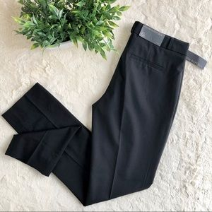 Banana Republic black wool Ryan slim fit pants 6L